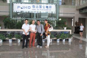 Visita à fábrica de elevadores FJHD (abril/2013)