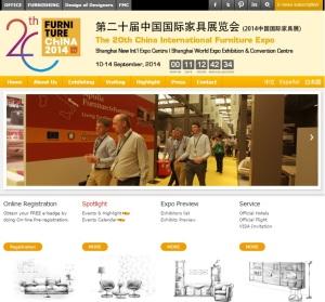 20ª Feira Internacional de Móveis de Xangai